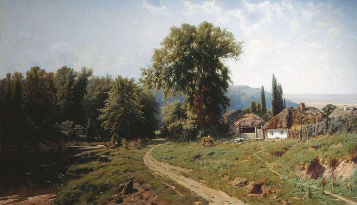 Констянтин Крижицький - Хутір в Малоросії (1884)