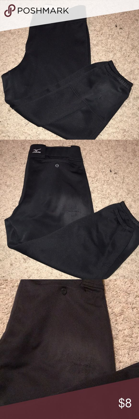 Softball Nickers Padded inserts in butt/thigh offer more protection for sliding. Worn. Mizuno Pants