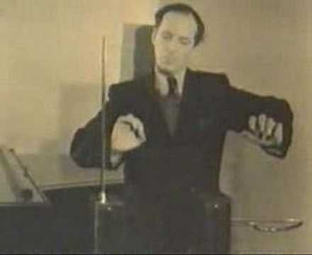 Theremin . . . a fascinating mix of technology, music, and dance