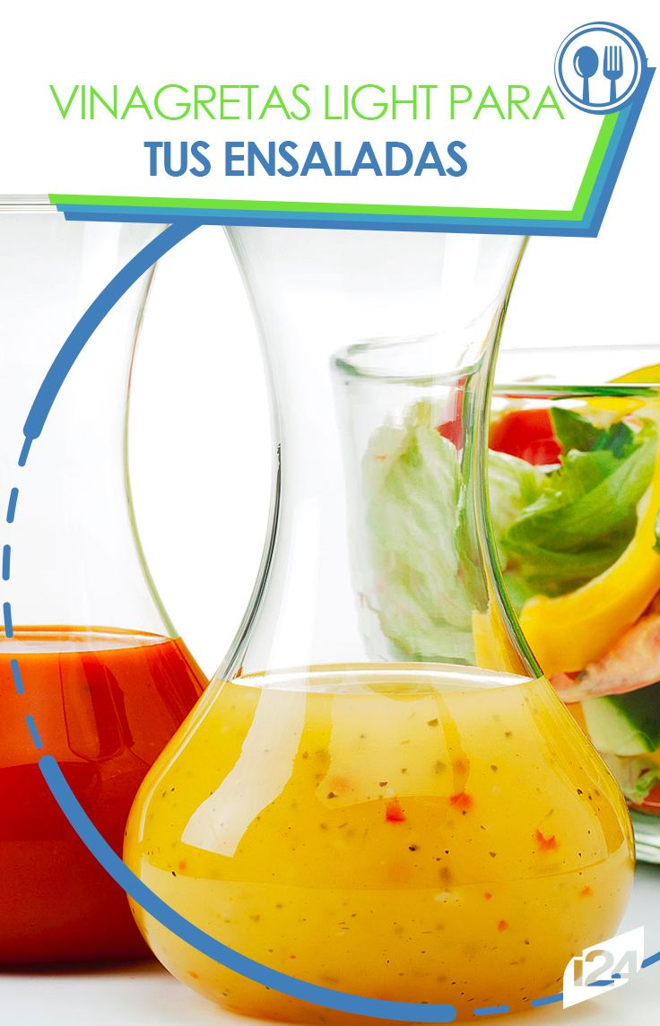Excelentes opciones para tus deliciosas ensaladas #Recetas #Light #Ensaladas #Fitness