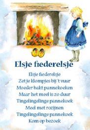 Elsje Fiederelsje - ansichtkaart