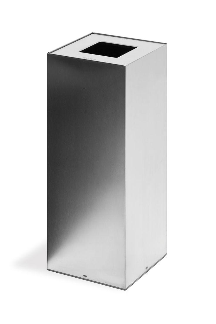 New Jetzt bei Desigano Riga INOX Papierkorb l Accessoires Abfalleimer von mobles ab