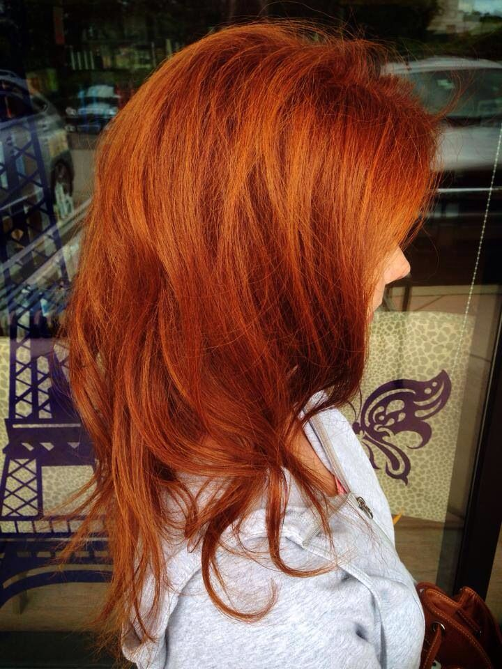 Joico Copper Hair Color