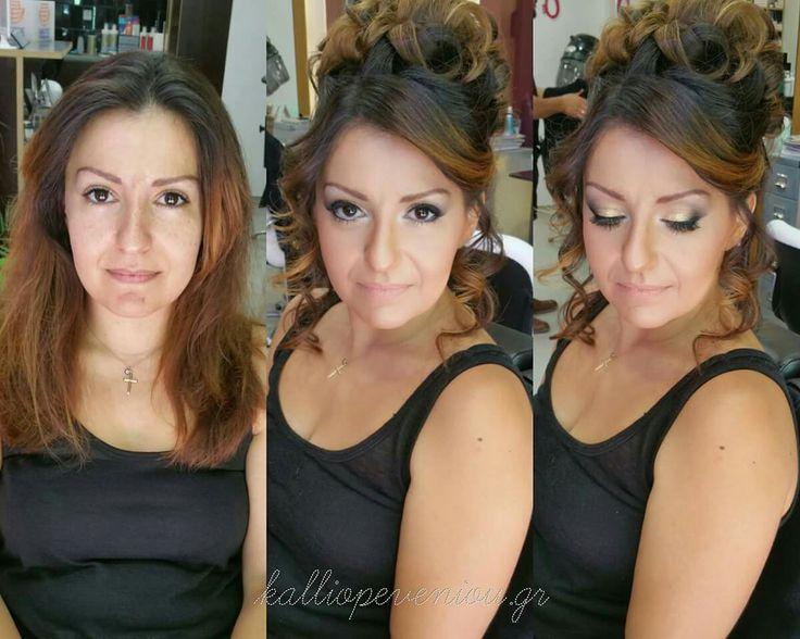 #makeup #hairstyle #trusttheexperts #kalliopeveniou #viphall #vipservices #behindthechair #modernsalon #becausewecan #instabeauty