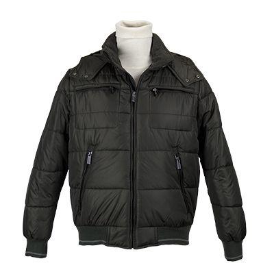 Giubbotto uomo trapuntato - Verde militare - Invernale. € 125,80. #hallofbrands #hob #jackets #coats #giubbotti #giaccone #invernale #wintry #winter