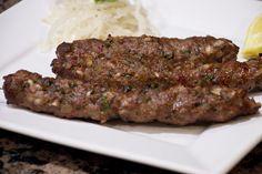 Pakistani Seekh Kebab + Yogurt Raita