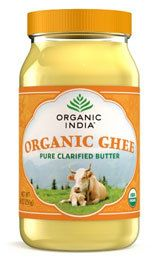 Organic India Organic Ghee- there is a great article at the bottom of the page near the nutrition information.