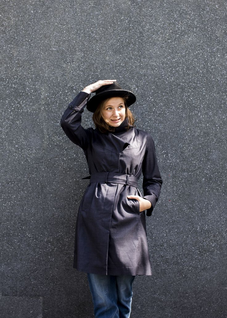 Noir Femme is challenging the normal and traditional view on the raincoat.
