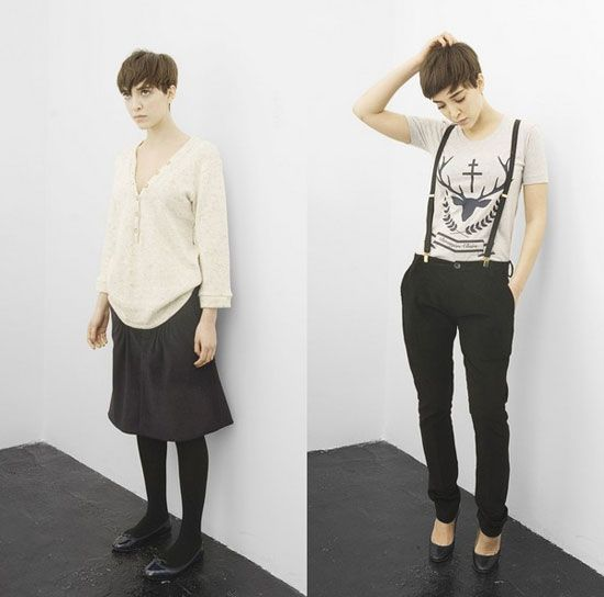 preppy French boyish. pixie cut! AND THAT OUTFIT ON THE RIGHT. GET IN MY CLOSETSBXIALSBCBSOS