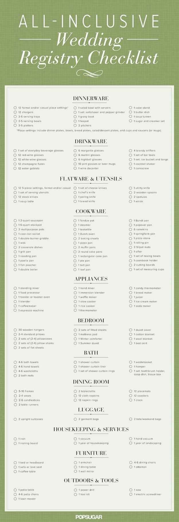Supposedly- Everything You Need To Plan Your Wedding