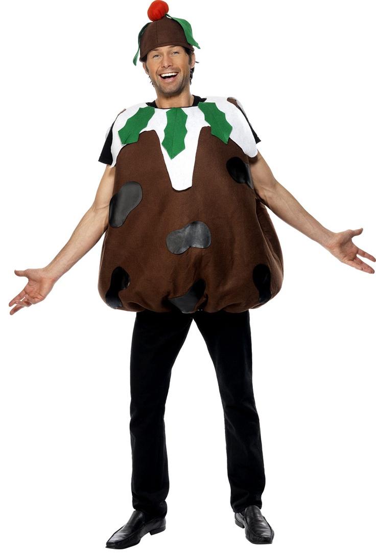 Christmas Pudding Costume (31312) £24.95 #fancydress #Christmas