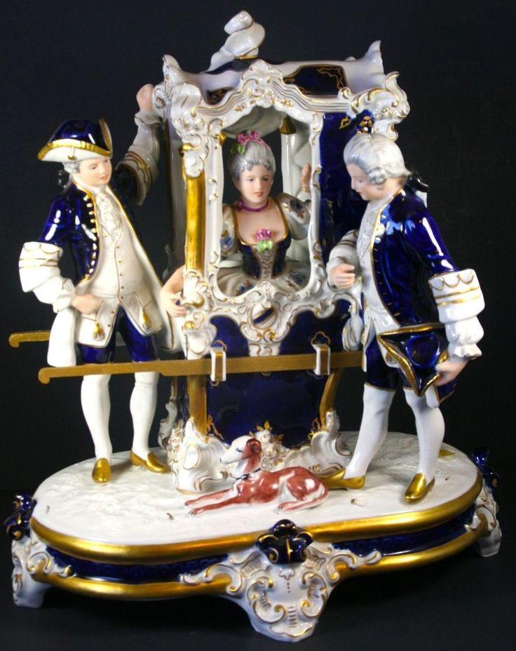 vintage stagecoach figurines