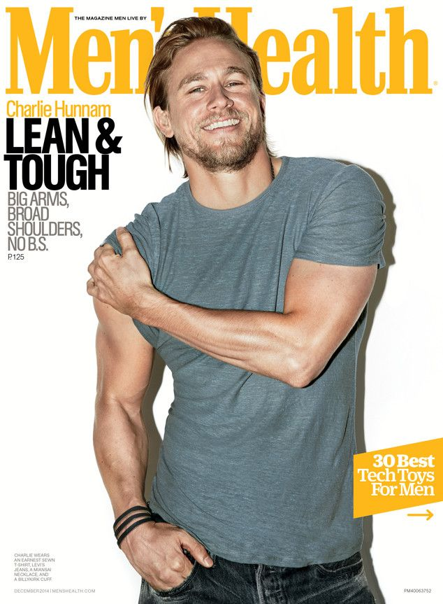 Charlie Hunnam Poses Shirtless, Thinks Fifty Shades of Grey Would Have Been a F--king Disaster | E! Online Mobile  He is yummy!