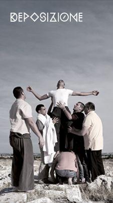 #ilvangelodipasolini #DEPOSIZIONE quadro coreografico di Giulio De Leo Foto©LaMokaCommunication  www.vangelopasolinimurgia.it