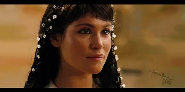 princess tamina hair from prince of persia movie. nice ...