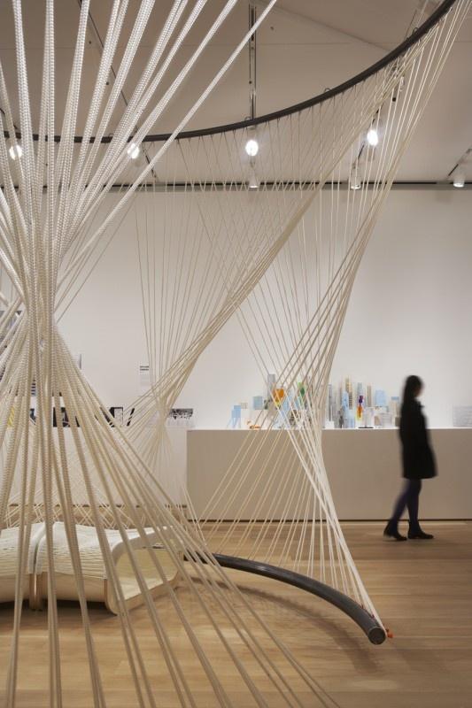 "Exhibition design - ""Building: Inside Studio Gang"" exhibit at the Art Institute of Chicago"
