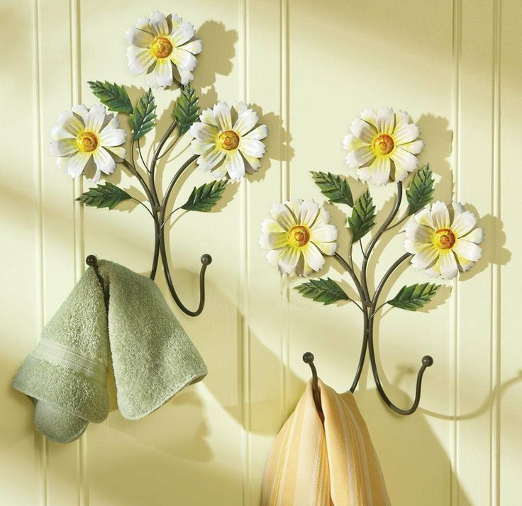 awesome bathroom flower decorations | 17 Best images about Daisy bathroom on Pinterest | Daisy ...