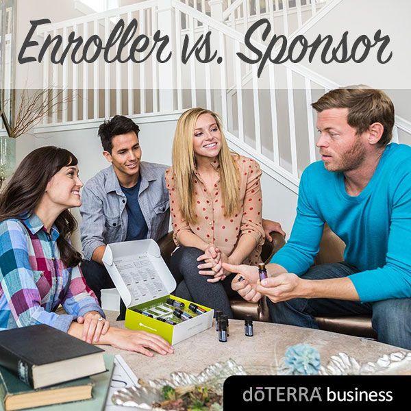 Enroller v. Sponsor   dōTERRA Business Blog