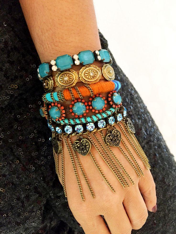 Mix de pulseiras Dona Nina