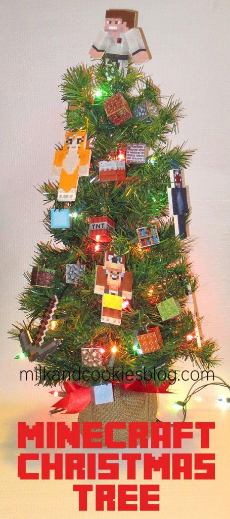 Minecraft Christmas Tree