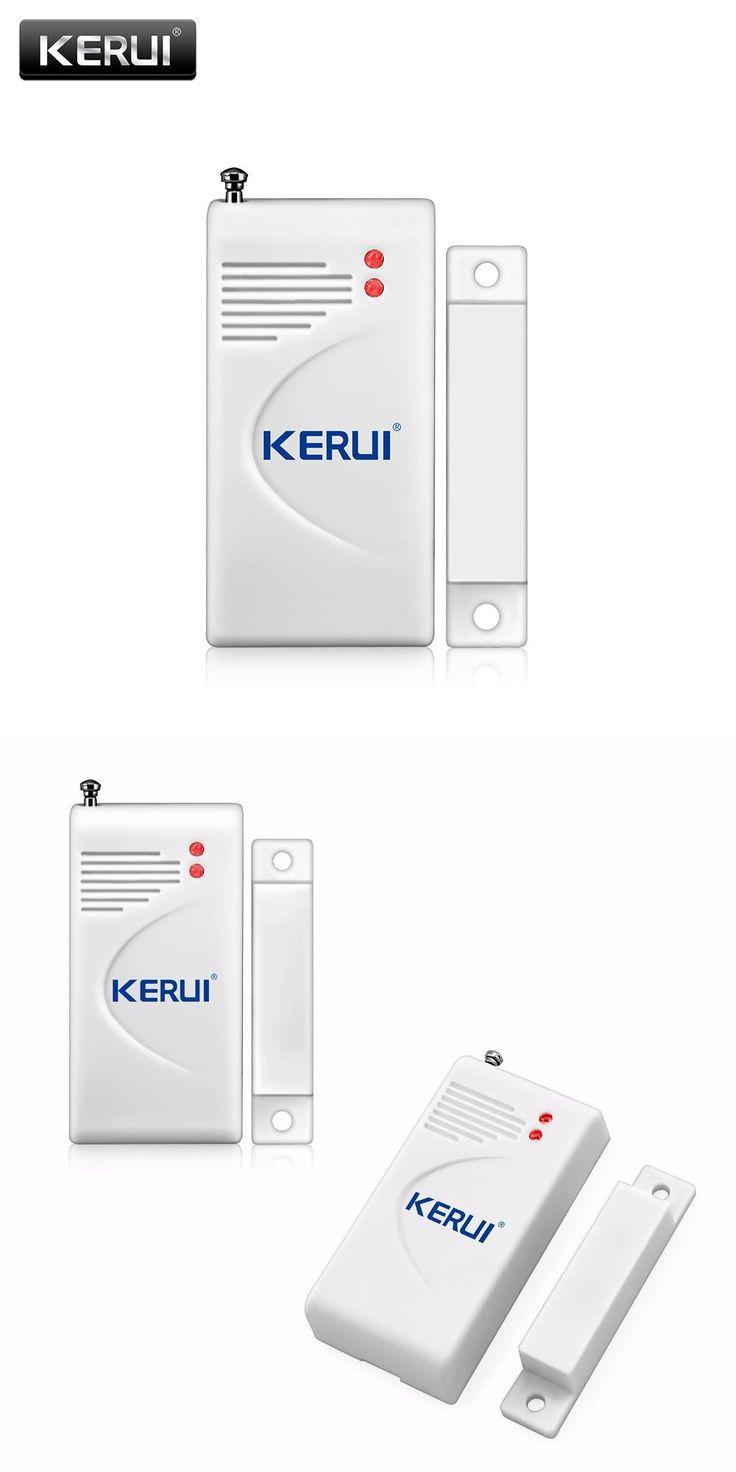 [Visit to Buy] Wireless  Burglar Alarm Magnetic Sensors Smart Home Security Monitoring Locator For Drawer Door Window #Advertisement