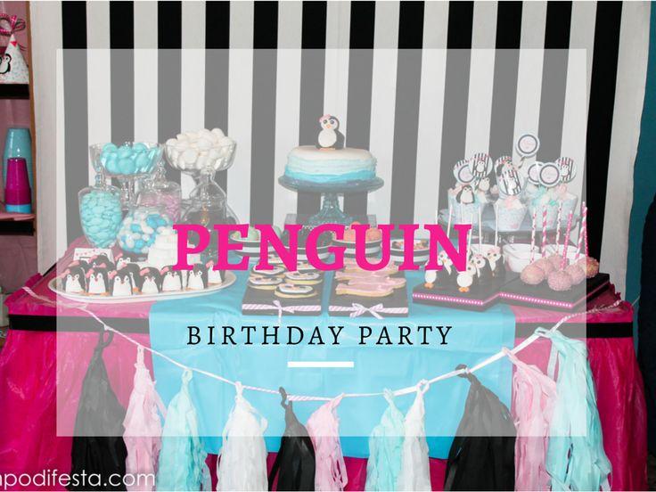Tempo di Festa Blog: PInguino,Festa di Compleanno