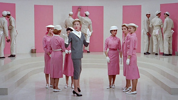 """""""Think Pink!"""" Kay Thompson, Fashion Magazine Editor in Funny Face"""