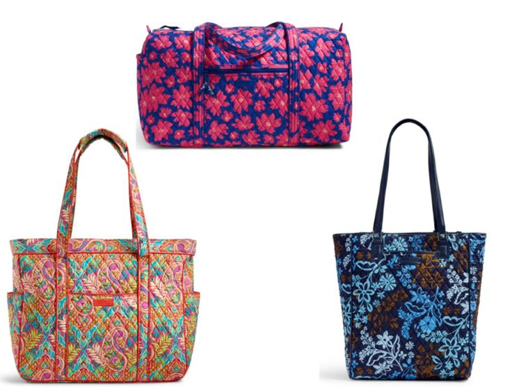SMOKING HOT! Vera Bradley Sale + Extra 40% OFF - FREE $78 Bag - FREE SHIPPING Too!