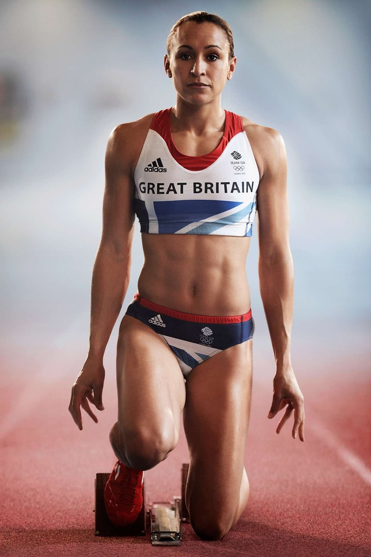 Jessica Ennis. Her abs >