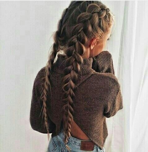 Would you rock this look? #hairstyle #girl #cute #style