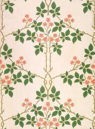 William Morris  Blackberry, wallpaper