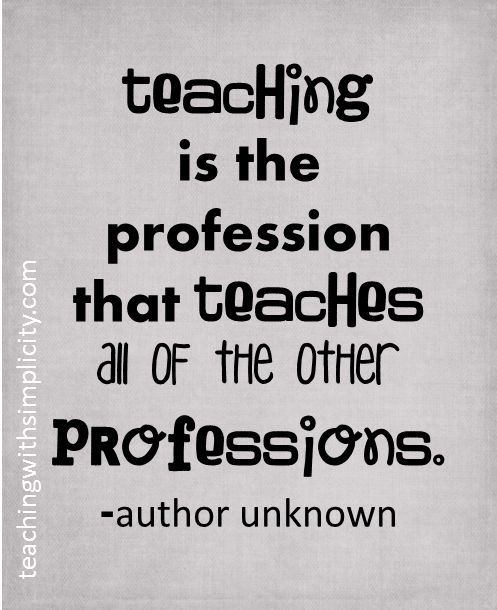 Inspiration Quotes For Teachers: 10 Best Images About Teacher Quotes On Pinterest