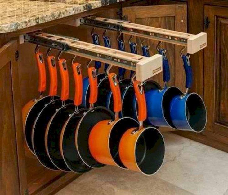 70 Surprising Apartment Kitchen Organization Decor Ideas