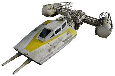 Image result for star wars bomber Y-Wing