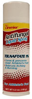 Foot Creams and Treatments: Premier Tolnaftate Antifungal Athletes Foot Liquid Spray 5.3 Oz (Pack Of 9) BUY IT NOW ONLY: $35.87