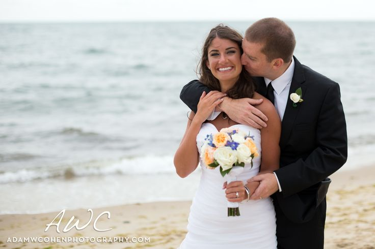 Happily (just) Married on the Beach.