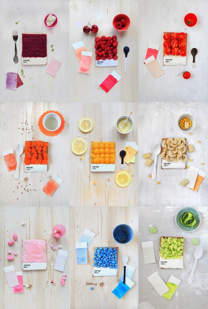 + Pantone inspired desserts +
