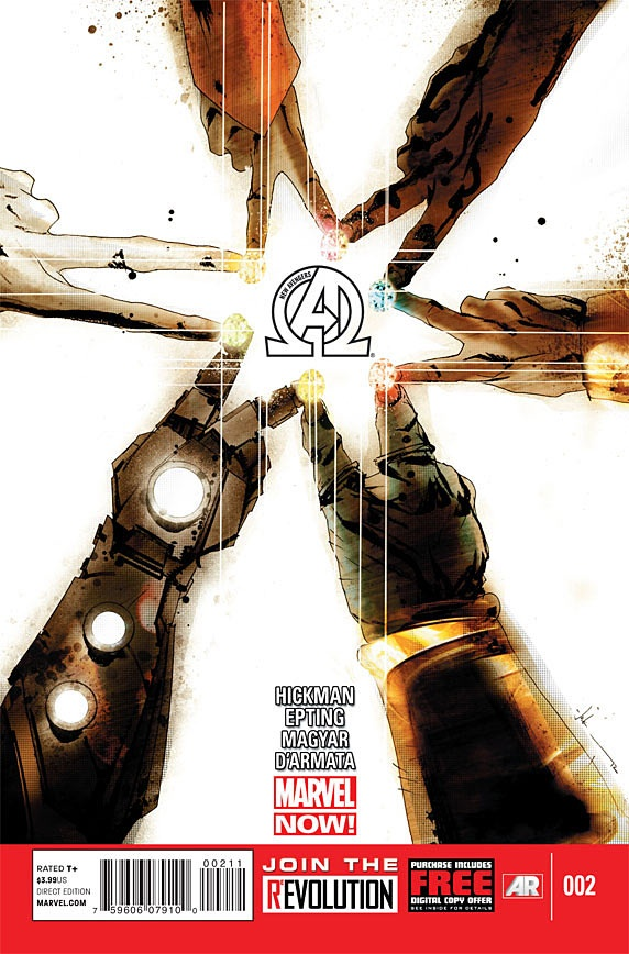New Avengers cover by Jock
