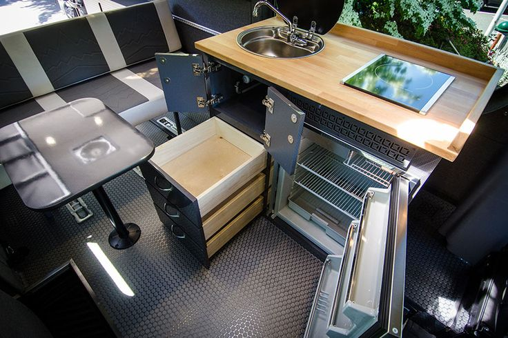 17 best images about van ideas on pinterest sprinter van for Galley kitchen cabinets for sale