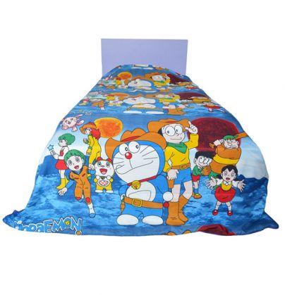 #DORAEMON #KIDS SINGLE BED REVERSIBLE #BLANKET #QUILT #DOHAR - #BLUE