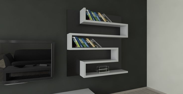 magnetic modular shelves