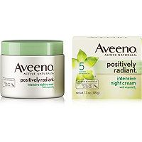 Aveeno - Positively Radiant Night Cream in  #ultabeauty