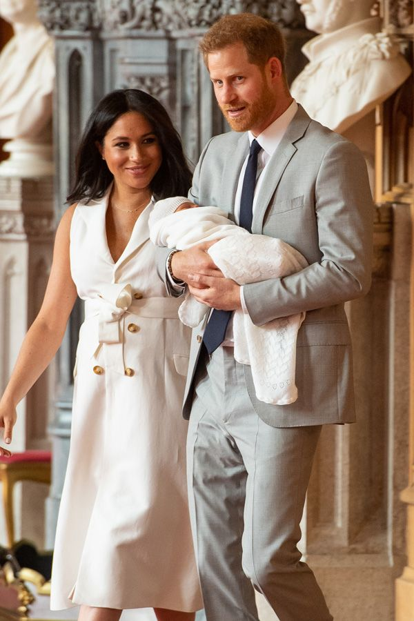 The first photos of Meghan and Harry's baby  – royal