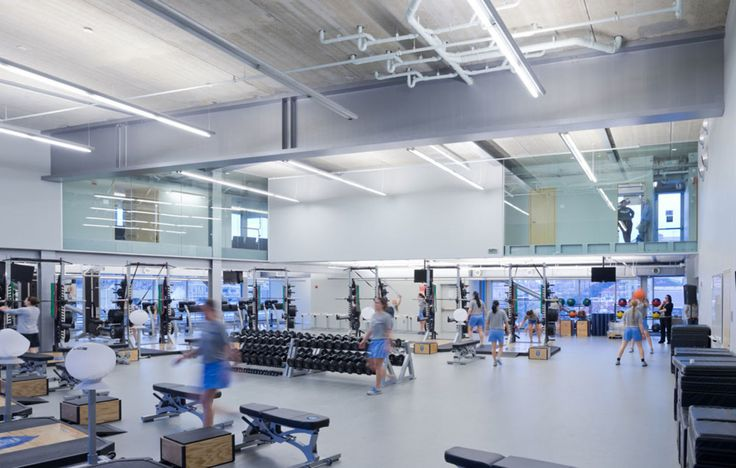 Located on the corner of West 218th street and Broadway—the northernmost edge of Manhattan, where Broadway crosses with Tenth Avenue and the elevated tracks of the 1 subway line—the Campbell Sports Center forms a new gateway to the Baker Athletics Comp...