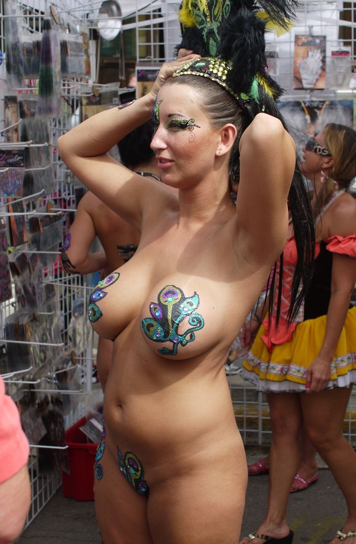 from Ayaan key west topless beach girl
