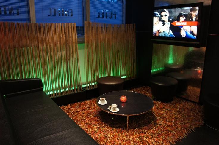 Qbic HOtel Living room, Amsterdam