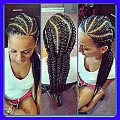 #hair #braids #laid