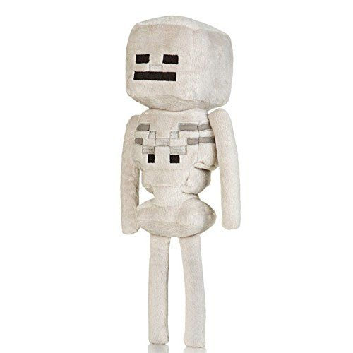 Peluce Squelette Minecraft officiel Squelette 32,5 cm #Peluche #Minecraft