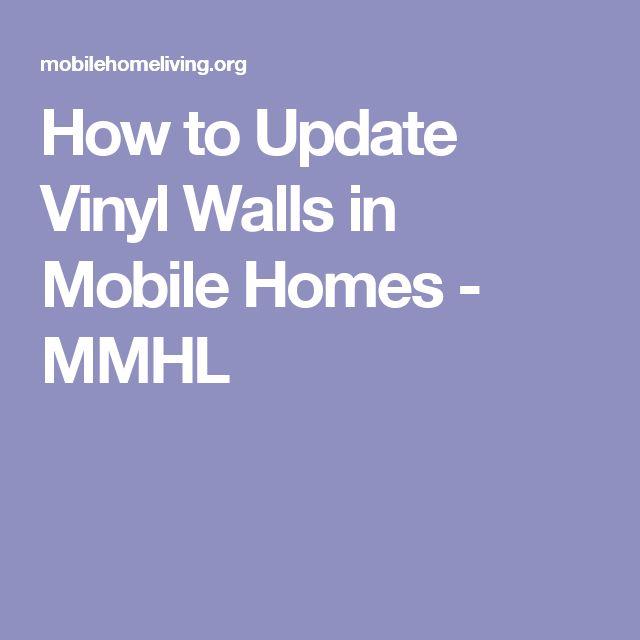 Mobile Home Vinyl Wallboard How To Repair