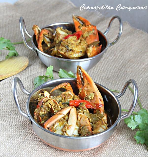 Cosmopolitan Currymania: Kakrar Jhaal (Bengali Crab Curry)